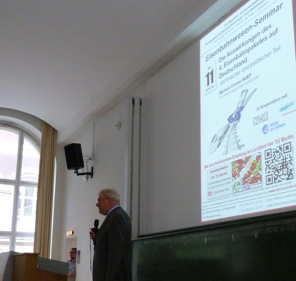 Prof. Dr.-Ing. Markus HECHT (TU Berlin, IFV Bahntechnik e.V.)