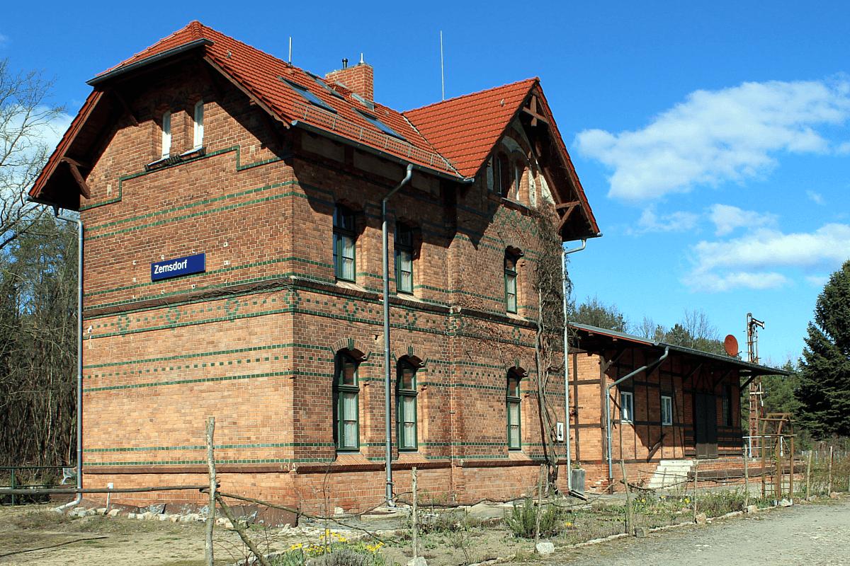 Bahnhof Zernsdorf bei Berlin