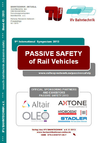 PASSIVE SAFETY 2013 - proceedings