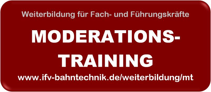 Weiterbildungsseminar: MODERATIONSTRAINING @ IFV-Schulungszentrum | Berlin | Berlin | Deutschland